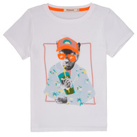 Clothing Boy short-sleeved t-shirts Billieblush / Billybandit NOLVI White
