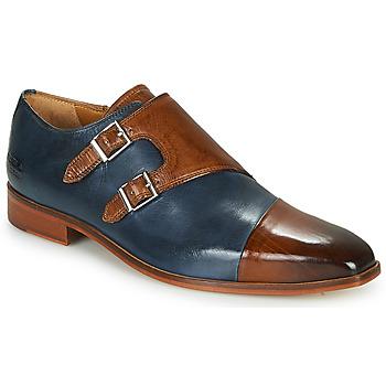 Shoes Men Brogues Melvin & Hamilton LANCE 34 Blue / Brown