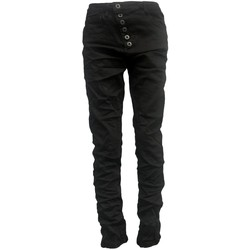 Clothing Women Slim jeans By La Vitrine Jeans noir B3021-H Black