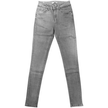 Clothing Women Slim jeans By La Vitrine jeans gris RW868 Grey