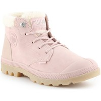 Shoes Women Derby Shoes & Brogues Palladium Pampa LO Pink