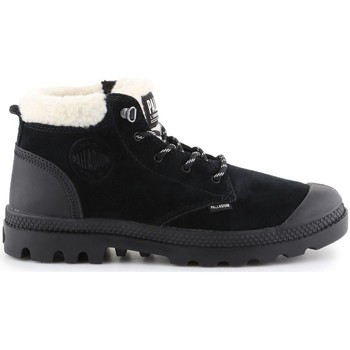 Shoes Women Hi top trainers Palladium Pampa LO WT Black