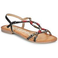 Shoes Women Sandals Gioseppo PARISH Black / Red
