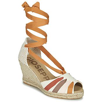 Shoes Women Sandals Gioseppo ARLEY Ecru / Mustard