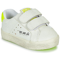 Shoes Boy Low top trainers Gioseppo AARLEN White / Yellow