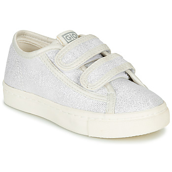 Shoes Girl Low top trainers Gioseppo OMEGNA Silver