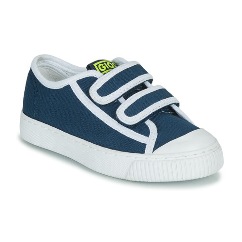 Shoes Boy Low top trainers Gioseppo OHEY Marine / White