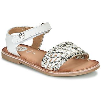 Shoes Girl Sandals Gioseppo VIETRI White / Silver