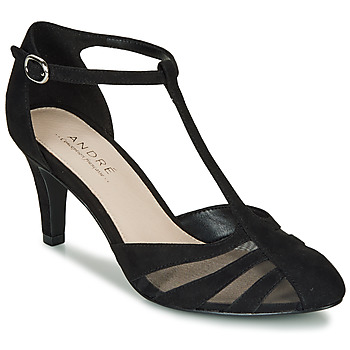 Shoes Women Heels André FALBALINE Black