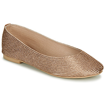 Shoes Women Flat shoes André PAPAYA Gold