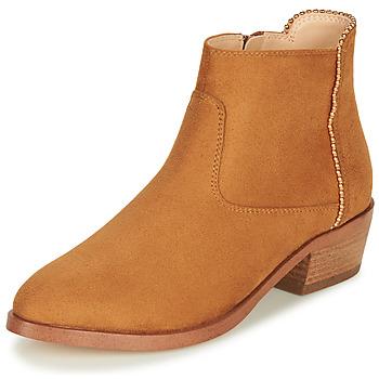 Shoes Women Mid boots André BELEN Camel