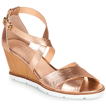 Shoes Women Sandals André PEONY Gold