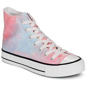 Shoes Women Hi top trainers André HEAVEN Multicolor