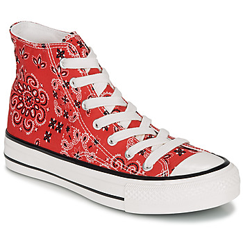 Shoes Women Hi top trainers André HEAVEN Red