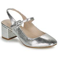 Shoes Women Flat shoes André JONNA Silver