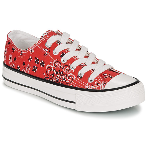 Shoes Women Low top trainers André HAPPY Red