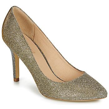 Shoes Women Heels André JENIF Gold