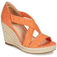 Shoes Women Heels André PERMELIA Orange