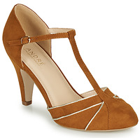 Shoes Women Heels André JULIETTE Camel