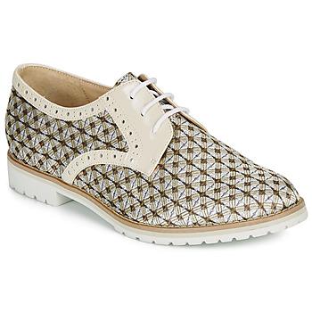 Shoes Women Derby Shoes André DERIVEUR Beige