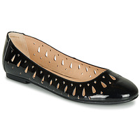 Shoes Women Flat shoes André JENNY Black / Varnish