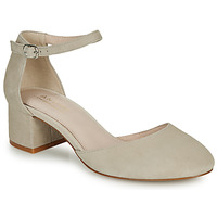 Shoes Women Heels André CILLY Beige