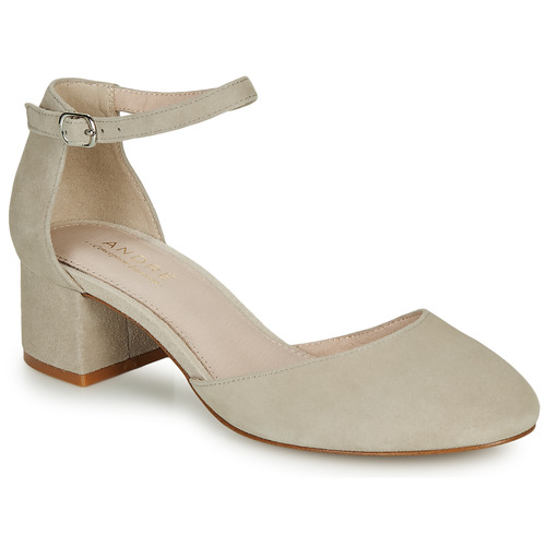 Shoes Women Heels André CILLY Beige