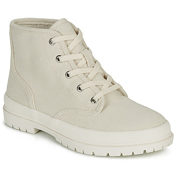 Shoes Women Hi top trainers André HANDE Beige
