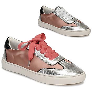 Shoes Women Low top trainers André LA VOLTIGEUSE Pink