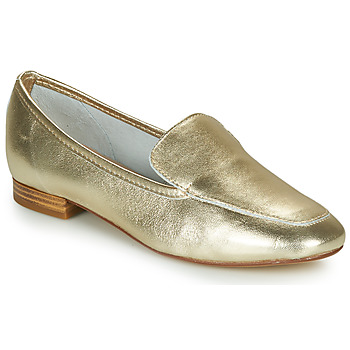 Shoes Women Loafers André JAELLE Gold