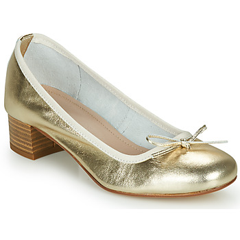 Shoes Women Flat shoes André POEME Gold