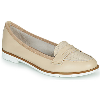 Shoes Women Loafers André JENESSA Nude