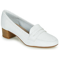 Shoes Women Loafers André MICHELLE White