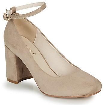Shoes Women Heels André LAURIA Beige