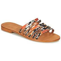 Shoes Women Sandals André BRAIDINE Orange