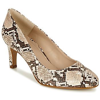 Shoes Women Heels André POMARA 2 Beige