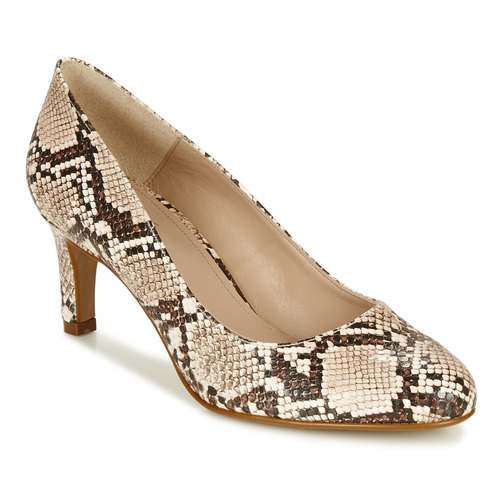 Shoes Women Heels André POMARA 2 Beige