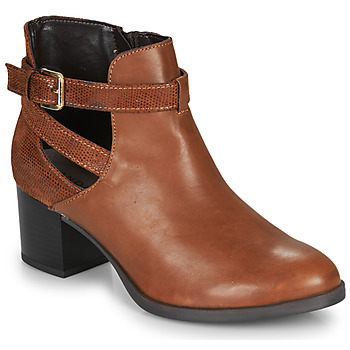 Shoes Women Ankle boots André BETIANA Camel