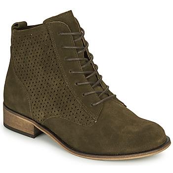 Shoes Women Mid boots André GODILLINE Kaki