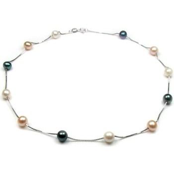 Watches & Jewellery  Women Necklaces Blue Pearls BPS 0303 Y Multicolored