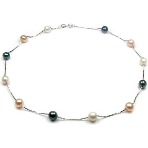 Watches Women Necklaces Blue Pearls BPS 0303 Y Multicolored