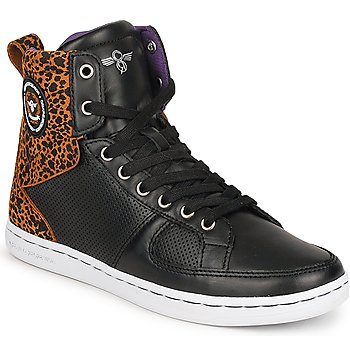 Shoes Women Hi top trainers Creative Recreation W SOLANO Black