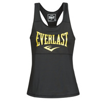 Clothing Women Tops / Sleeveless T-shirts Everlast EVL TANK TOP TK Black / Gold