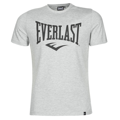 Clothing Men short-sleeved t-shirts Everlast EVL LOUIS SS TS Grey