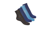 Clothes accessories Women Socks André SHINE Marine