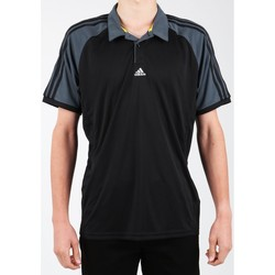 Clothing Men Short-sleeved polo shirts adidas Originals Adidas Polo Shirt Z21226-365 black, grey