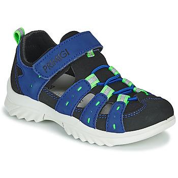 Shoes Children Outdoor sandals Primigi  Blue / Black