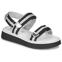 Shoes Girl Sandals Primigi 5436100 Black / Silver