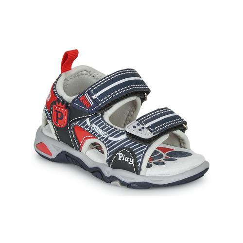 Shoes Boy Sandals Primigi  Marine / Red