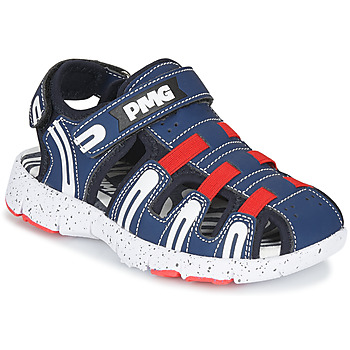 Shoes Boy Outdoor sandals Primigi 5461611 Marine / Red